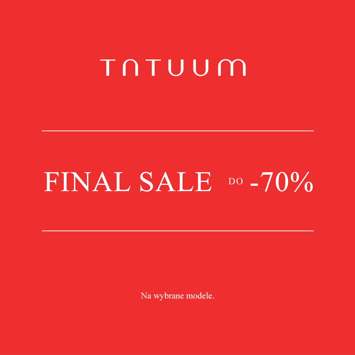 Final SALE w TATUUM!
