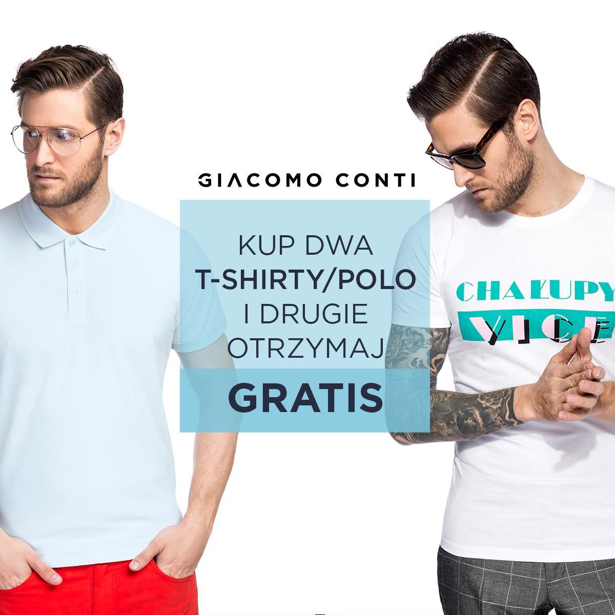 Druga szt. polo/T-shirt gratis
