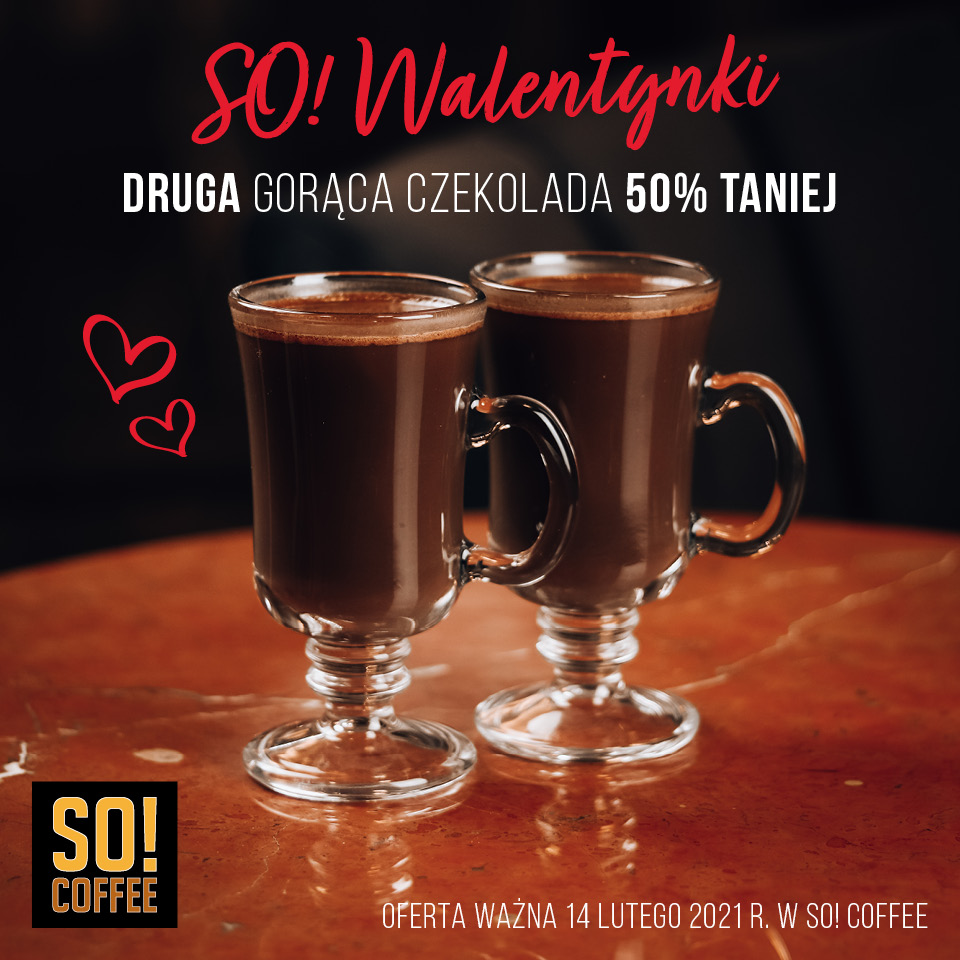 Walentynki w SO COFFEE